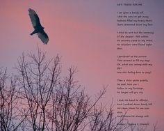 Poetry Art Spiritual Poem Inspirational by GrayWolfGallery on Etsy
