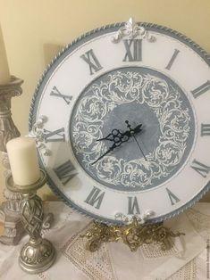 """Часы для дома ручной работы. Ярмарка Мастеров - ручная работа. Купить Часы настенные """"Донна"""". Handmade. Часы, авторские часы"""