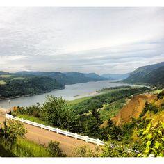 Columbia River, Oregon.
