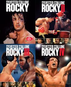 Anyday, Anytime, I'm always in the mood for Rocky. I like this because it discludes me two least favorites of the anthology.