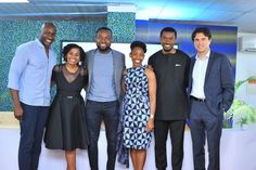 PRESS RELEASE   In Partnership with CcHub, Facebook Launches NG_Hub in Lagos - its First Hub Space in Africa     FLTR: Ime Archibong, ...