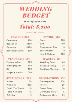A Budget: Save Thousands Without Looking Cheap Plan a wedding under wedding budget breakdown on where to spend money to have a cheap wedding.Plan a wedding under wedding budget breakdown on where to spend money to have a cheap wedding. Plan Your Wedding, Wedding Tips, Wedding Party List, Surprise Wedding, Wedding Costs, Wedding Stuff, Wedding Song List, Food Truck Wedding, Low Cost Wedding