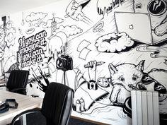 Appricot Office Wall  by Nina Radenković