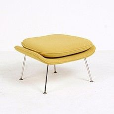 Saarinen Style: M70 Womb Ottoman Mcm Furniture, Selling Furniture, High Quality Furniture, Furniture Design, Living Room Modern, Living Rooms, Womb Chair, Scandinavian Modern, Modern Spaces