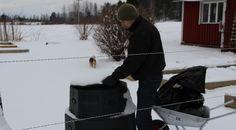 Använd din gamla varmkompost på vintern. | Bokashi.se Bokashi, Outdoor Decor, Gardens, Compost, Outdoor Gardens, Garden, House Gardens
