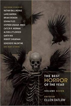 The Best Horror of the Year: Volume Seven By Collected Authors - From a Bram Stoker Award–winning editor, this anthology of chilling tales will take you into the darkest part of the night… Featuring work by Neil Gaiman, Garth Nix, and other bestselling au Horror Fiction, Horror Books, Horror Stories, Cemetery Dance, Harlan Ellison, Horror Tale, Vampire Stories, Best Sci Fi, Libros