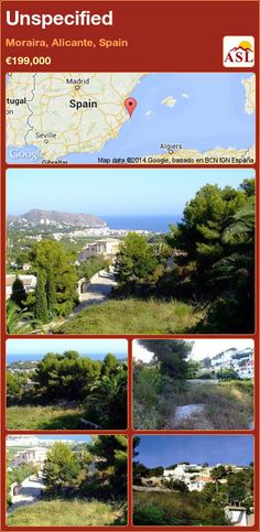Unspecified in Moraira, Alicante, Spain ►€199,000 #PropertyForSaleInSpain