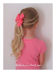 Bet Your Hair Wasn't This Cool In Kindergarten! Awesome Hair Styles For Little Girls – - Looking for Hair Extensions to refresh your hair look instantly? focus on offering premium quality remy clip in hair. Cute Little Girl Hairstyles, Pretty Hairstyles, Braided Hairstyles, Toddler Hairstyles, Natural Hairstyles, Style Hairstyle, Wedding Hairstyles, Quick Hairstyles, Hairstyles For Girls