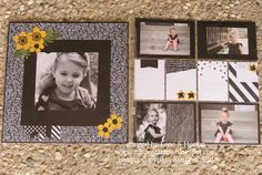 Stampin' with Nanna: Traditional + Project Life Completed Layout