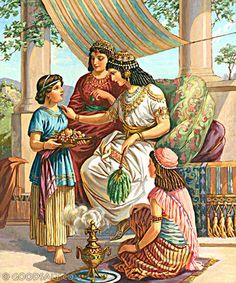 2 Kings 5: Naaman's Wife and the Hebrew Maiden