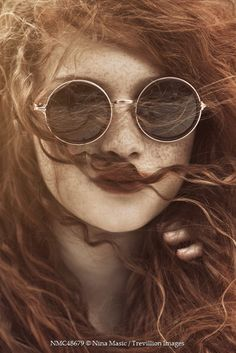 Trevillion Images - teenage-girl-in-sunglasses Women With Freckles, Red Hair Freckles, Freckles Girl, Teenage Girl Photography, Human Photography, Photography Women, Red Sunglasses, Sunglasses Women, Professional Portrait
