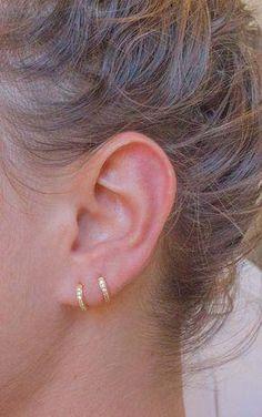 Asos cross//spike encanto Ear Cuff Plateado tono pendientes de oro Pl non-pierced Earcuff