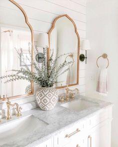 bathroom design ideas - master bathroom ideas - interior design - interior design ideas - home design - home design ideas - bathroom decor ideas - master bathroom design ideas - Bad Inspiration, Bathroom Inspiration, Home Decor Inspiration, Bathroom Inspo, Decor Ideas, Decorating Ideas, Girl Bathroom Ideas, Mirror Inspiration, Bathroom Styling