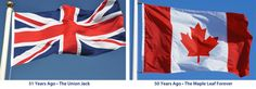 I still remember saluting the Union Jack and singing God save our gracious King and in 1953 became God save our gracious Queen, when Queen Elizabeth became Queen after her father passed away. After r all we were a colony of the British Isles.