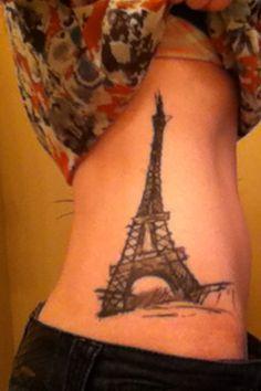 My Eiffel Tower tattoo. <3