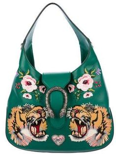 fdb7192ad01b Gucci Dionysus embroidered maxi leather hobo #Guccihandbags | Gucci ...