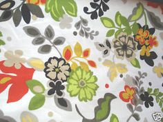 This fabric would be perfect in my living room.