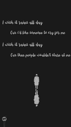 RM & # forever rain & # MV & # & # I wish it would rain all day Cause then I wish so K Quotes, Rain Quotes, Bts Lyrics Quotes, Bts Qoutes, Song Lyrics, Life Quotes, Wallpaper Quotes, Bts Wallpaper, Bullet Journal October