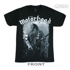 Com - Motorhead - Lemmy Photo T-Shirt Motorhead T-Shirt featuring