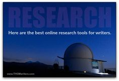 Here are some of the online research tools I recently used to write a non-fiction novel accurately.