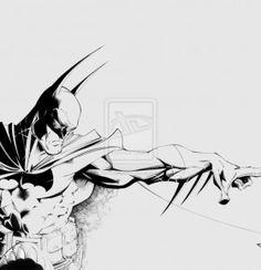 Batman Sketch Wallpaper