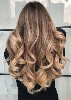Hair Color Shades, Ombre Hair Color, Hair Color Balayage, Blonde Color, Cool Hair Color, Brown Hair Colors, Hair Colours, Brunette Color, Long Face Hairstyles