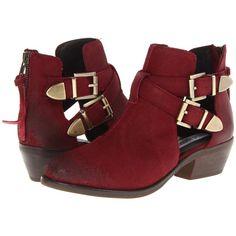 Steve Madden Cinch Women's Zip Boots found on Polyvore