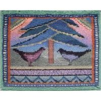 Siirry tuotteeseen Punch Needle, Filet Crochet, Wool Rug, Bohemian Rug, Weaving, Textiles, Tapestry, Rugs, How To Make