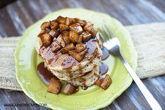 Sunday Brunch: Caramel Apple Pancakes
