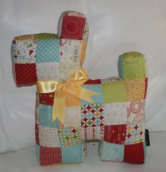 Patchwork Scottie dog in Sweetwater's Wishes by morethanjustquilts