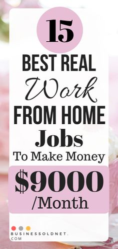 real work from home jobs is a great option for stay-at-home who need to make extra money. Here are my tips for working from home. Earn More Money, Earn Money From Home, Earn Money Online, Way To Make Money, Marketing Program, Marketing Jobs, Online Income, Online Jobs, Planning Budget