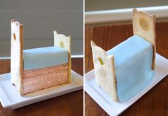 The Princess and the Pea Bed {Cake Tutorial}   I'm going to attempt this darling idea... Wish me luck!