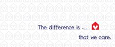 The difference is. that we care. Media Design, Different, Website
