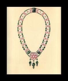 Vintage - Esquisses et Croquis - Bijoux - Boucheron - 1928