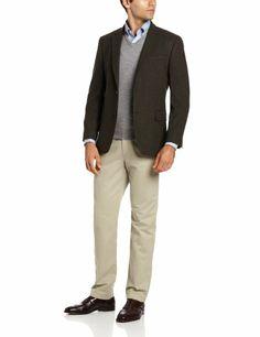Pronto Uomo Couture Navy Plaid Sport Coat | Son | Pinterest