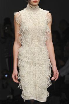 Bora Aksu at London Fashion Week Fall 2013 - StyleBistro
