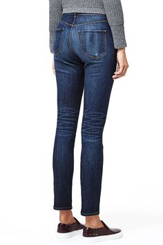 The High Rise Skinny | Dark Vintage - 3x1 | 3x1 | Made Here