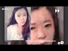 그림공유 SNS 펜업 작가 'mongpic' 갤럭시노트 10.1 그림그리기 강좌 (인물화) - YouTube