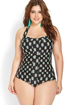 Love this pineapple one peice But I Might need about six sizes smaller