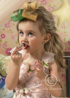 Just like mom Close Up by Dezzan.deviantart.com on @deviantART