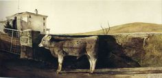 Andrew Wyeth, Young Bull, 1960