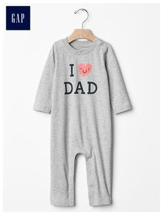 d35b76f3554 Long sleeve graphic one-piece Baby Boy One Pieces