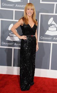 Kathy Griffin en la alfombra roja de los premios Grammy, el 10 de febrero de 2013 en Los Angeles.