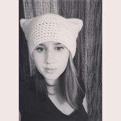 SUMMER SALE White Cat Hat by pesquallie on Etsy