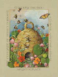 The Pedigree of Honey does not concern the bee, A Clover anytime to him is aristocracy. Emily Dickinson