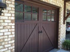 Garage Doors - Wood Creations Wood Garage Doors, Wood Creations, Home Projects, Outdoor Decor, Eye, Home Decor, Wooden Garage Doors, Decoration Home, Room Decor