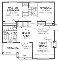 321 Best 2 BEDROOM HOUSE PLANS images   House plans, Small ...