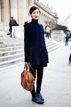 street style fashion paris | Street Style Photoblog - Fashion Trends - Lina Zhang, Model, Paris ...