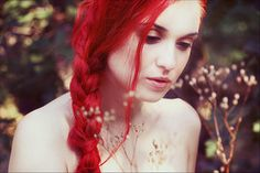 bright red hair green eyes - Google Search
