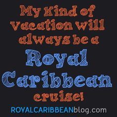Always has been, always will be!  #cruise #travel #royalcaribbean